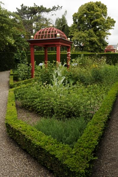 Vordingborg, Historisk botanisk trädgård, Danmark
