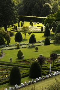 Drummond Castle, gardens, Skottland, Scotland