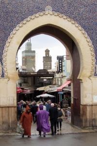 Fez, Marocko, Porten till medinan